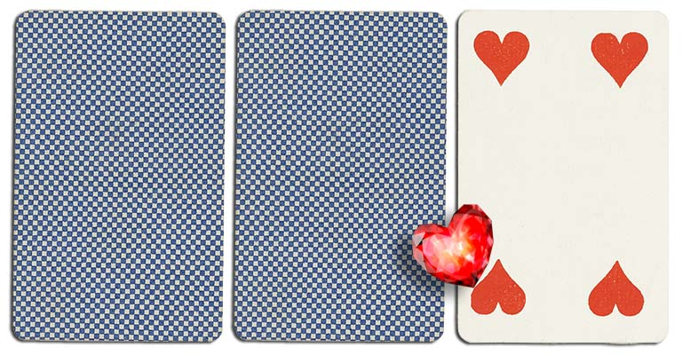04 of hearts meaning french deck