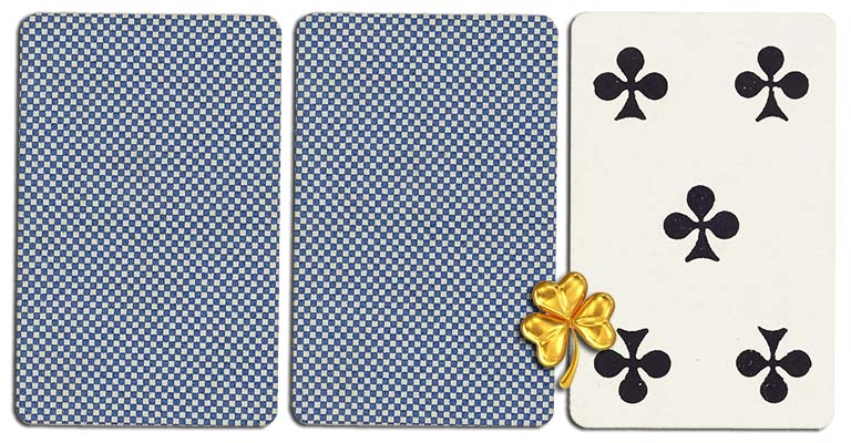 05 of clubs meaning french deck