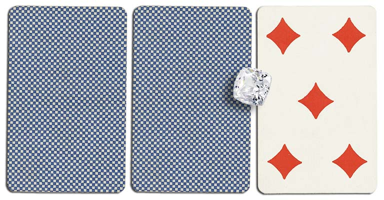 05 of diamonds meaning french deck