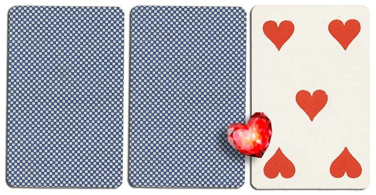 05 of hearts meaning french deck