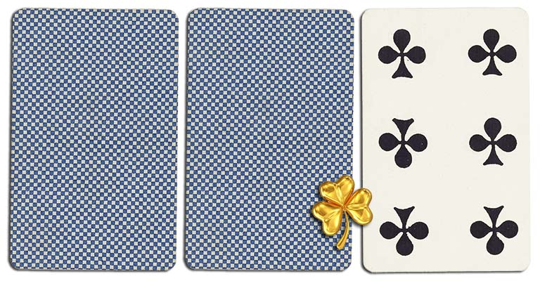 06 of clubs meaning french deck