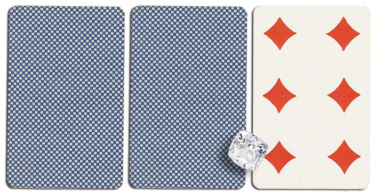 06 of diamonds meaning french deck