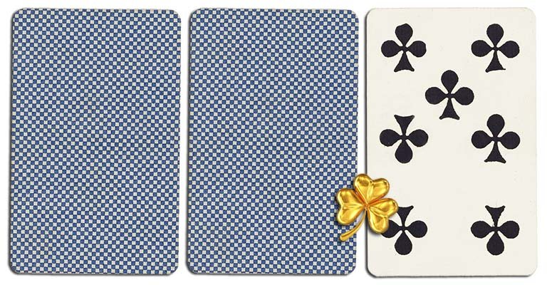 07 of clubs meaning french deck