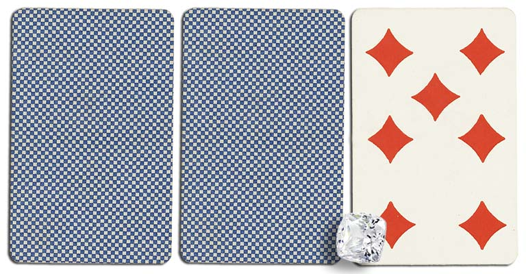 07 of diamonds meaning french deck