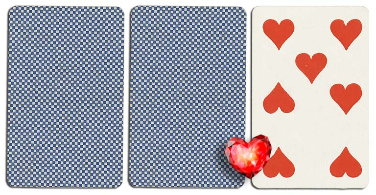 07 of hearts meaning french deck