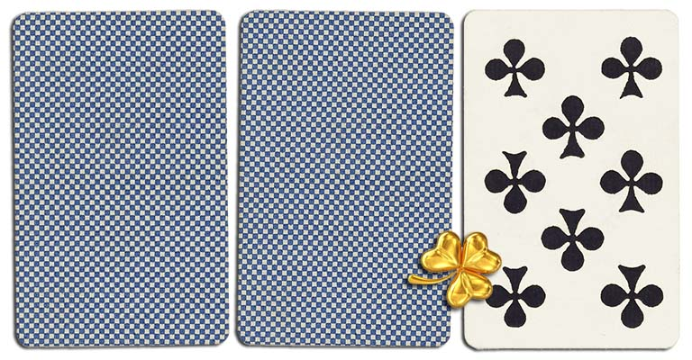 08 of clubs meaning french deck