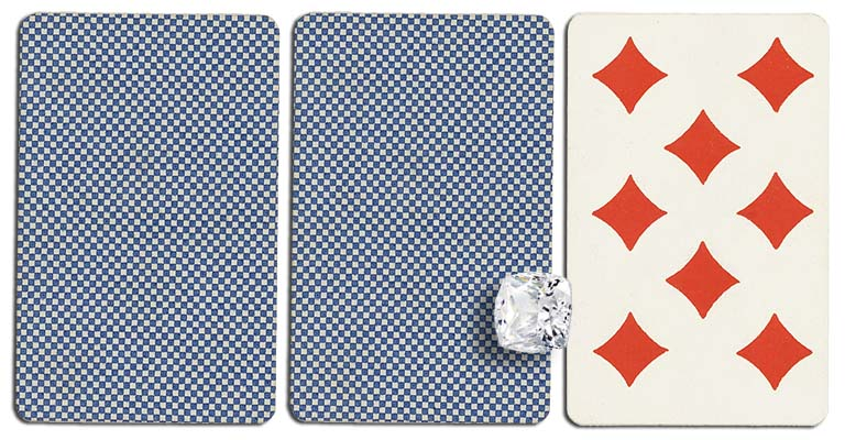 08 of diamonds meaning french deck