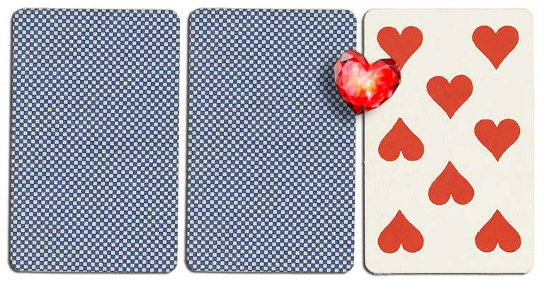 08 of hearts meaning french deck