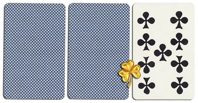 09 of clubs meaning french deck