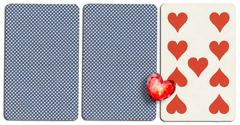 09 of hearts meaning french deck