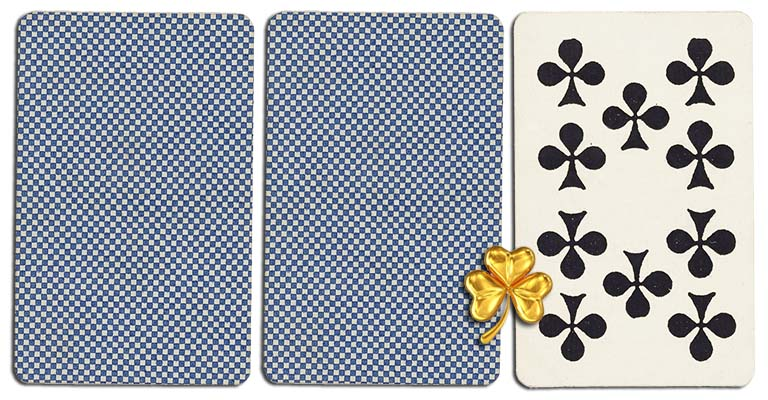 10 of clubs meaning french deck
