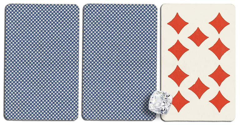 10 of diamonds meaning french deck