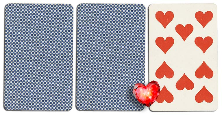 10 of hearts meaning french deck