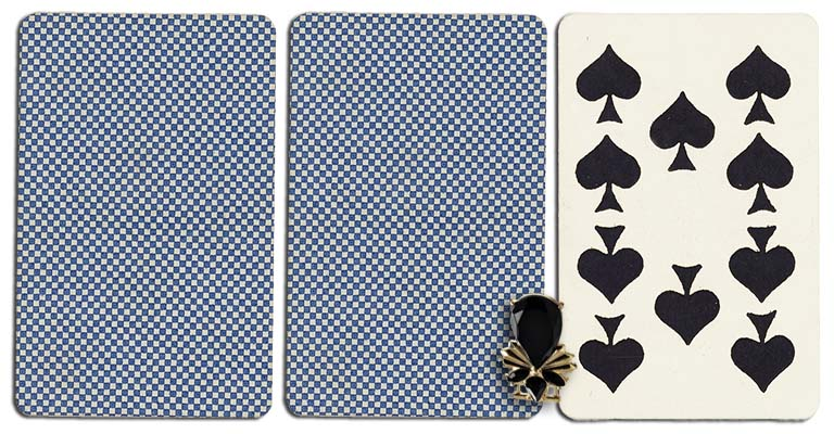 10 of spades meaning french deck