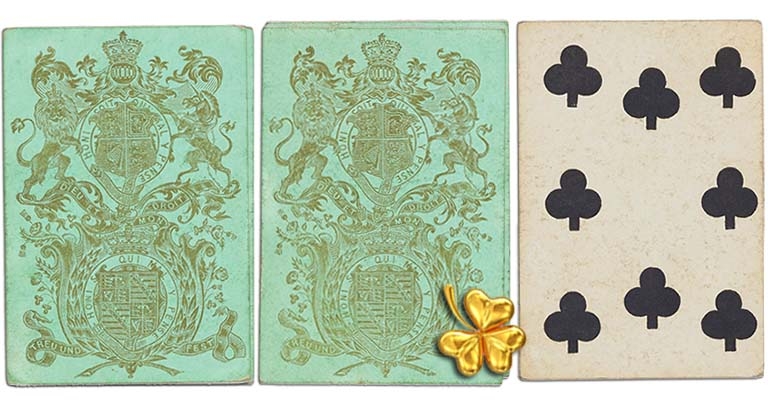 Eight of clubs English Cartomancy meaning