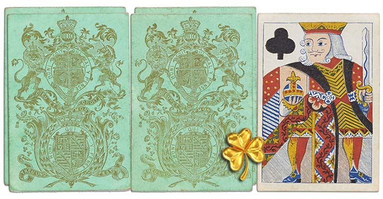 King of clubs English Cartomancy meaning