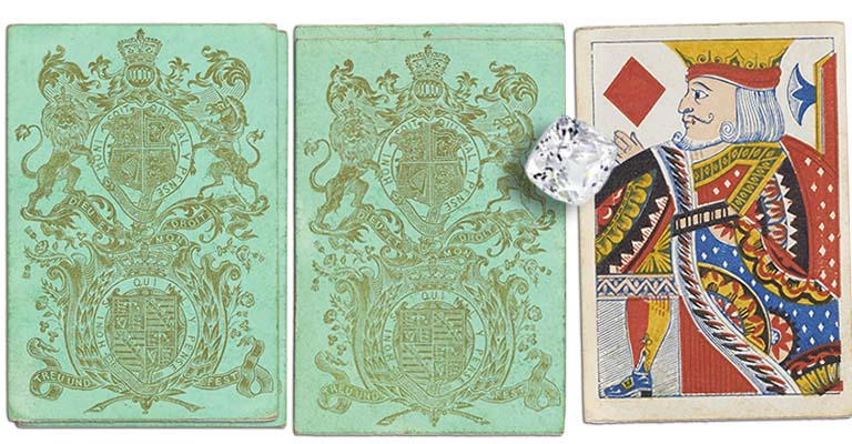 King of diamonds English Cartomancy meaning