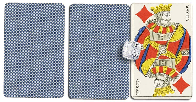 King of diamonds meaning french deck