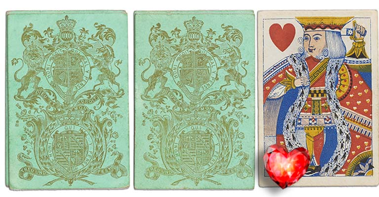 King of hearts English Cartomancy meaning