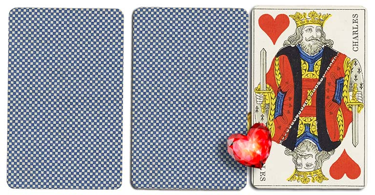 King of hearts meaning french deck