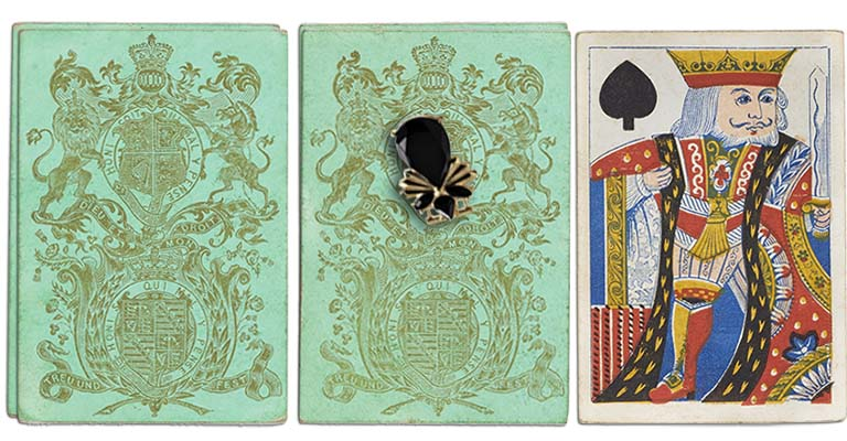 King of spades English Cartomancy meaning