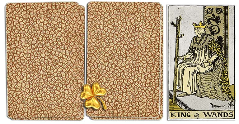 King of wands meaning tarot