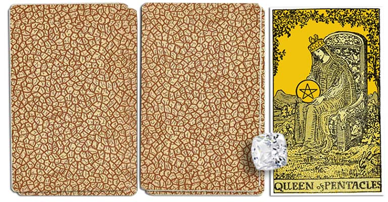 Queen of Pentacles meaning tarot