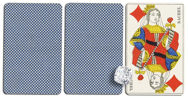Queen of diamonds meaning french deck