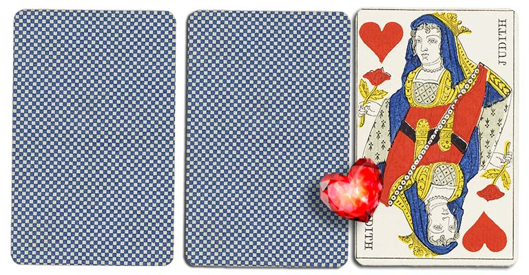 Queen of hearts meaning french deck