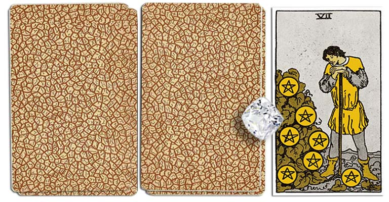 Seven of Pentacles meaning tarot