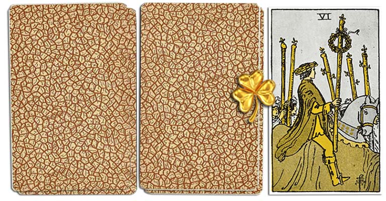 Six of Wands meaning tarot