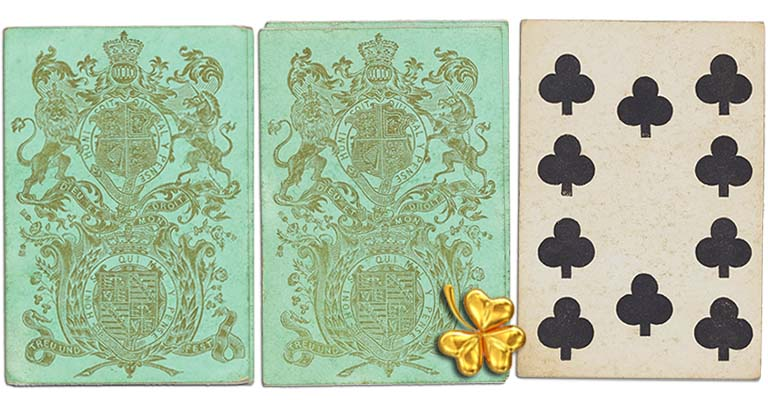 Ten of clubs English Cartomancy meaning