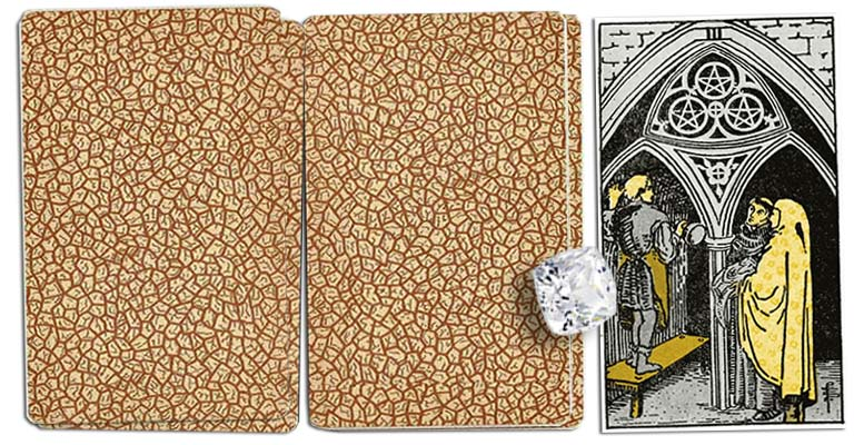 Three of Pentacles meaning tarot