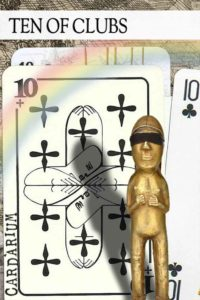 10 of Clubs meaning in Cartomancy and Tarot