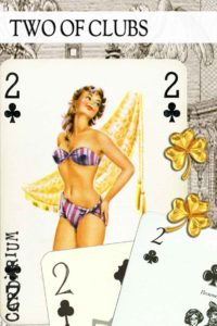 2 of Clubs meaning in Cartomancy and Tarot