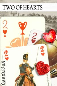 2 of Hearts meaning in Cartomancy and Tarot