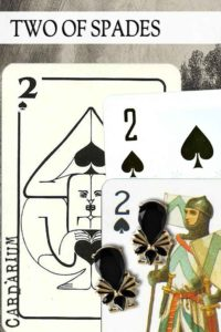 2 of Spades meaning in Cartomancy and Tarot