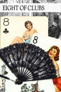 8 of Clubs meaning in Cartomancy and Tarot