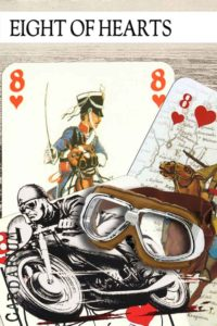 8 of Hearts meaning in Cartomancy and Tarot