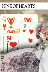 9 of Hearts meaning in Cartomancy and Tarot