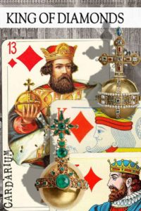 King of Diamonds meaning in Cartomancy and Tarot