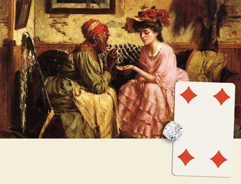 4 of diamonds destiny card