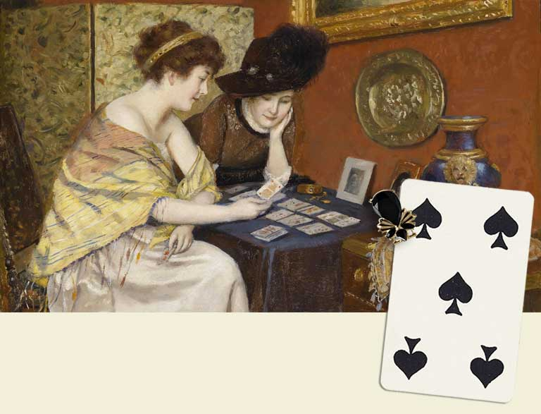 5 of spades destiny card