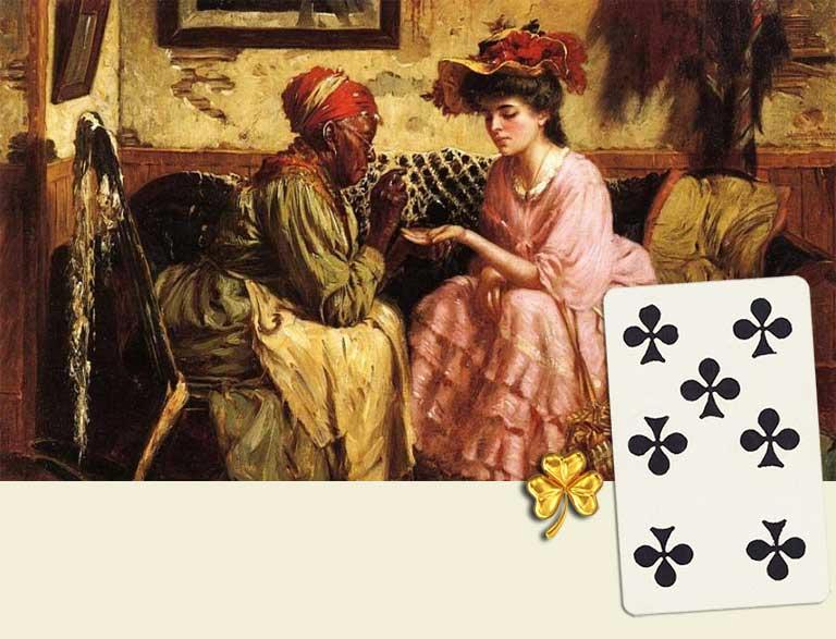 7 of clubs destiny card