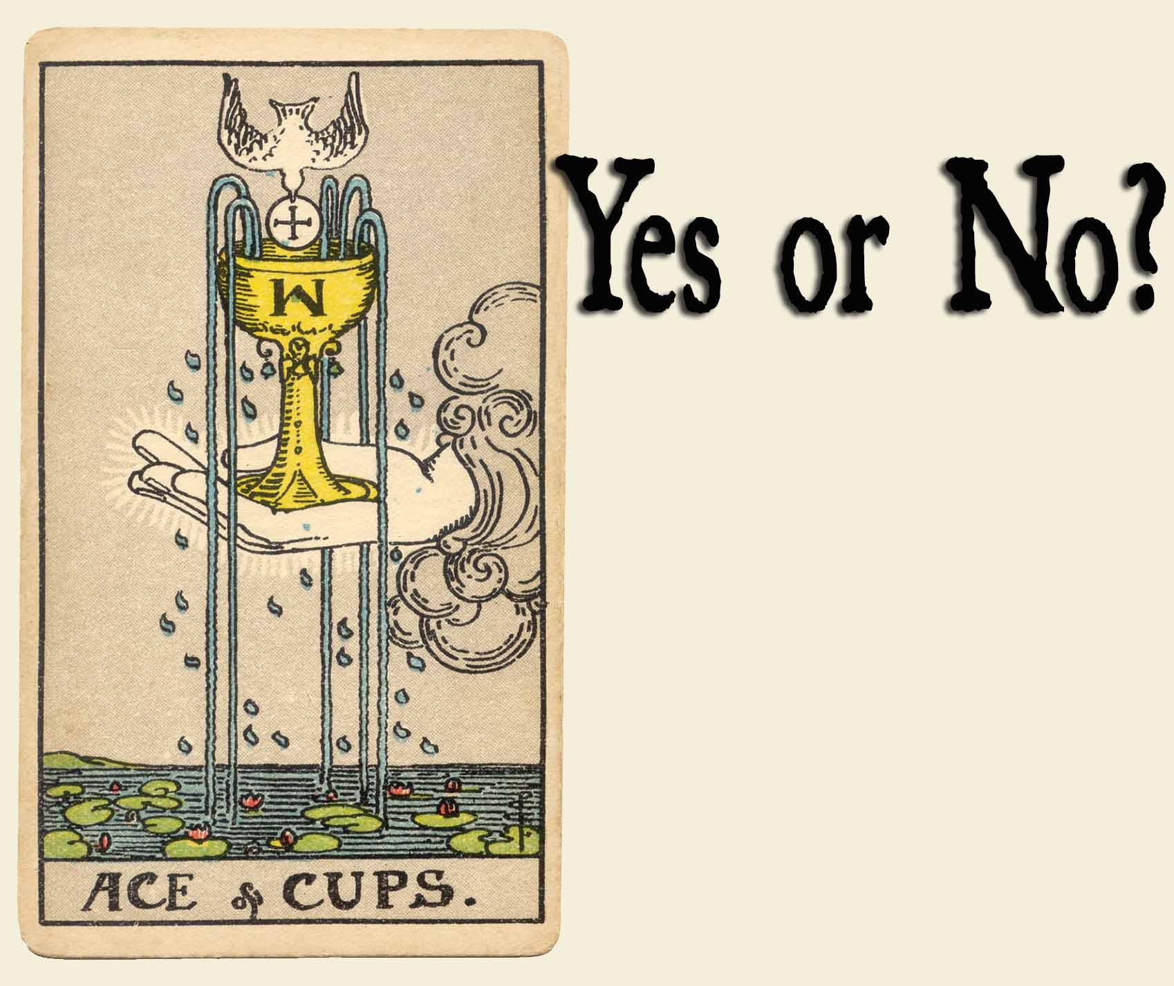 You are currently viewing Ace of Cups – Yes or No?