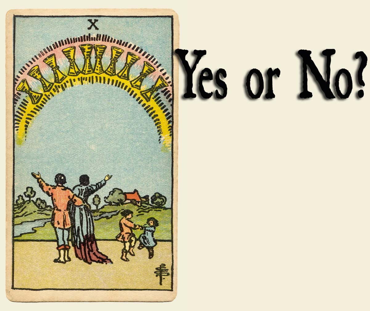 10 of Cups – Yes or No?