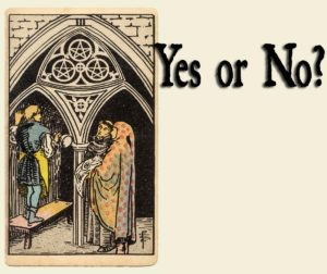 Read more about the article 3 of Pentacles – Yes or No?