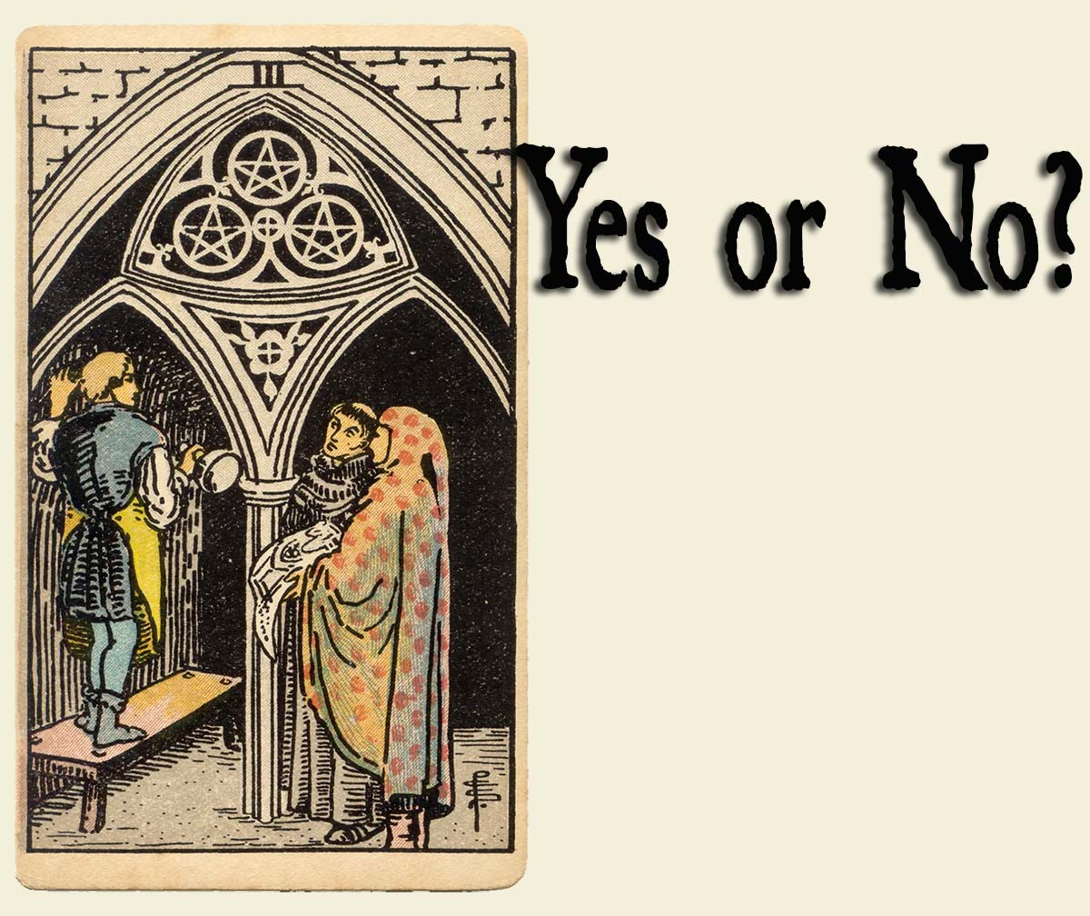 3 of Pentacles – Yes or No?