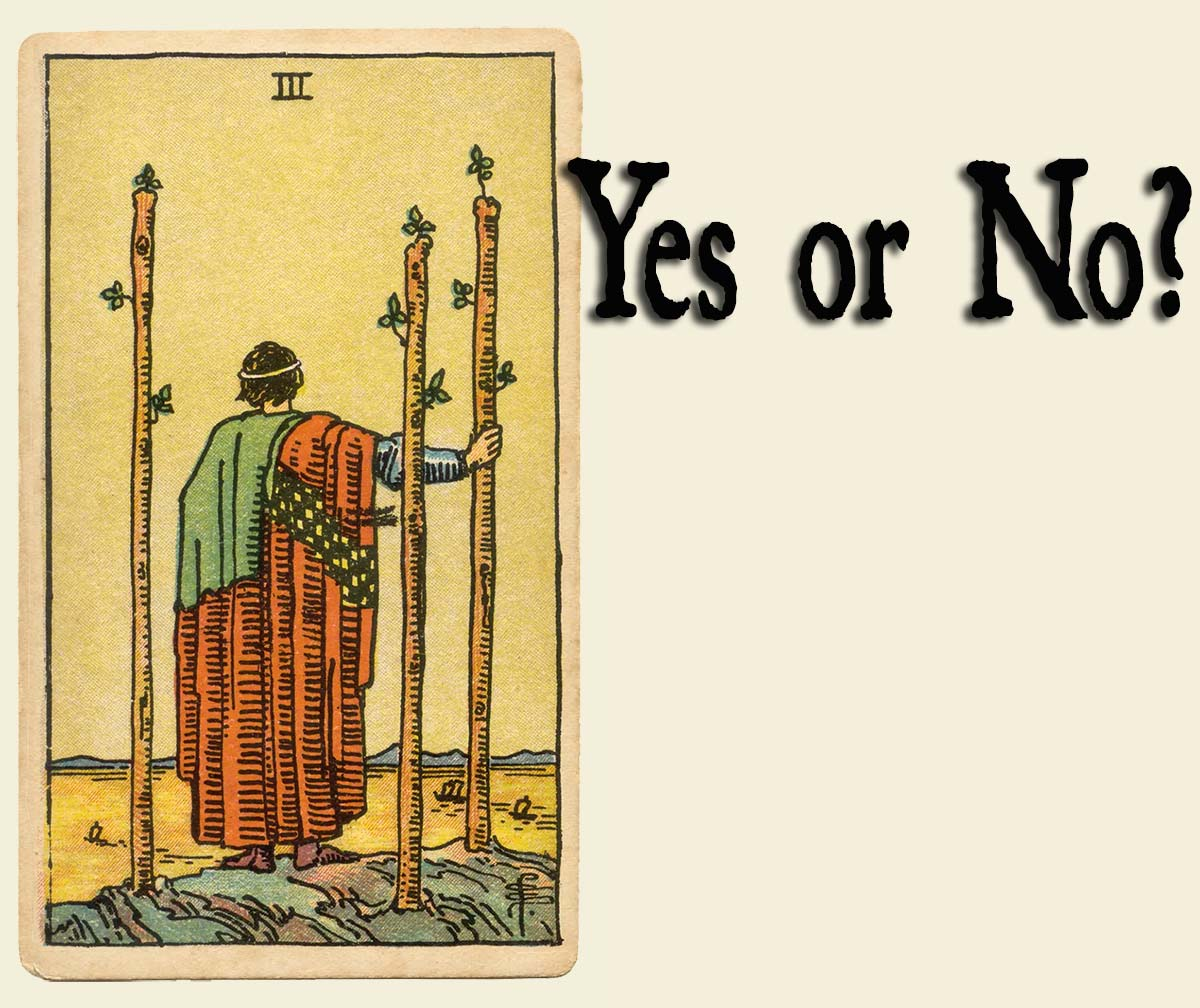 3 of Wands – Yes or No?