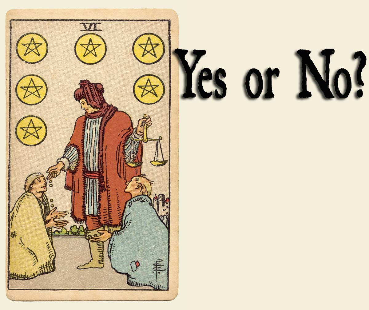 6 of Pentacles – Yes or No?